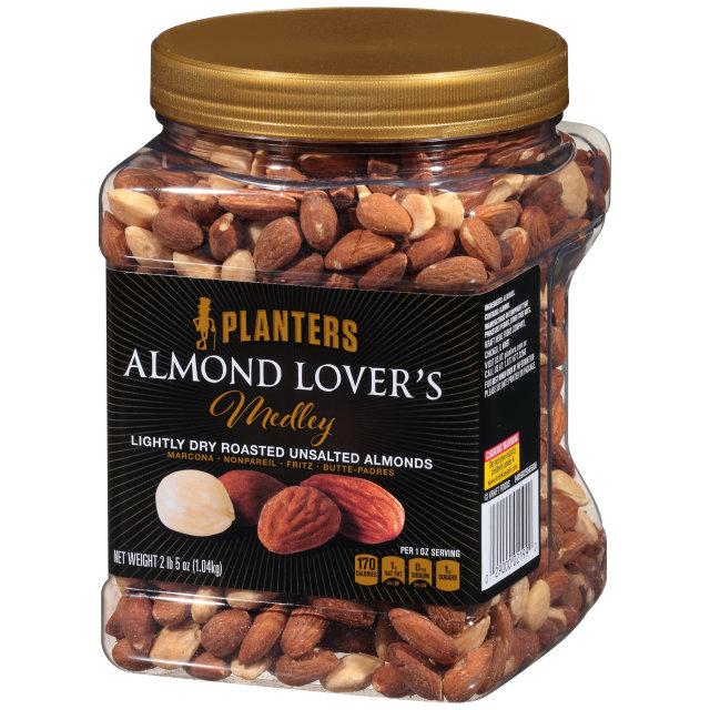 PLANTERS® Almond Lover's Medley 37 oz jar