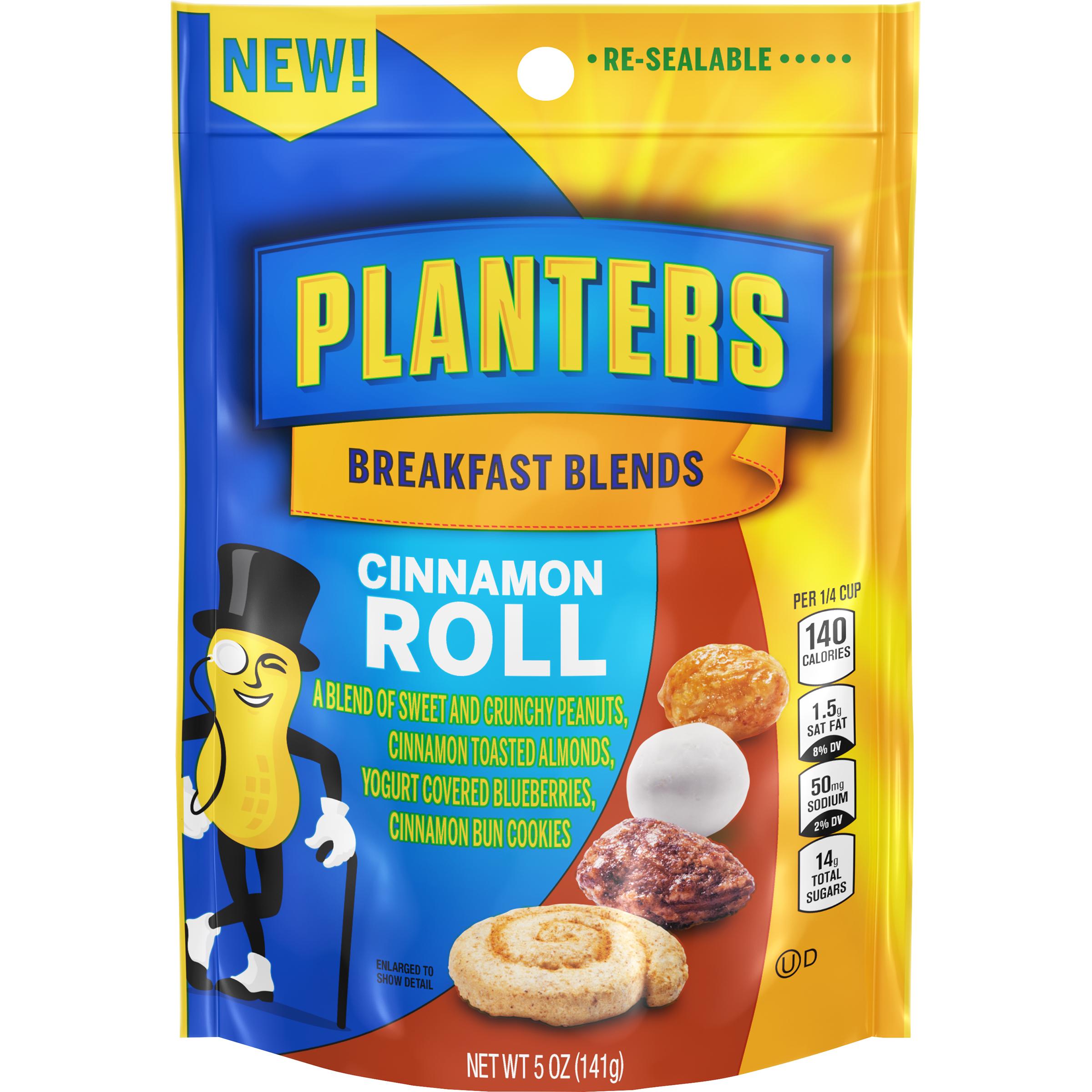 PLANTERS® Breakfast Blends Cinnamon Roll Trail Mix 5 oz bag