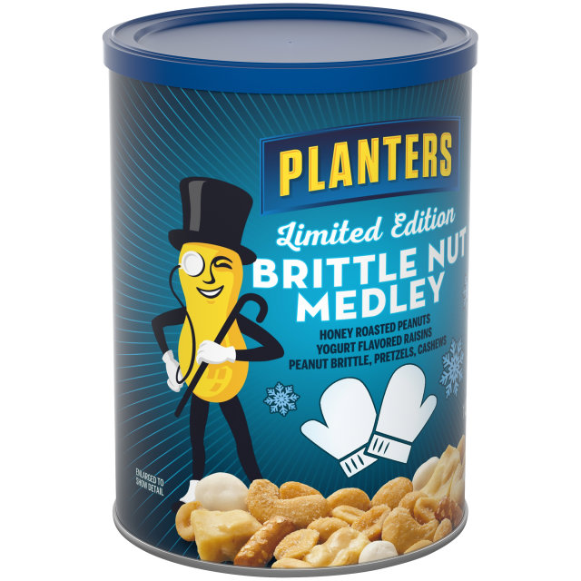 PLANTERS® Brittle Nut Medley 19.25 oz can