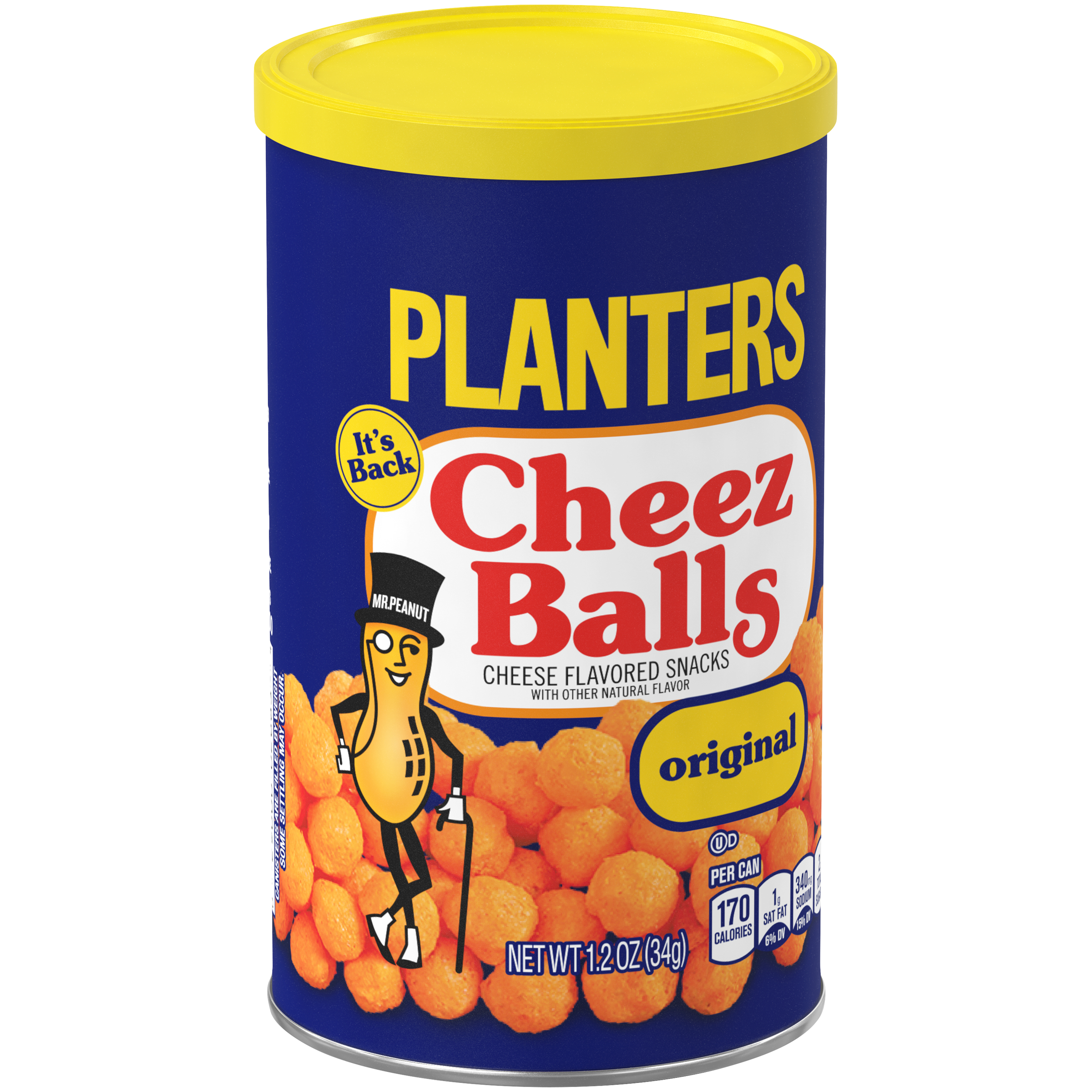 PLANTERS® Cheez Balls 2.75 oz canister (pack of 6)