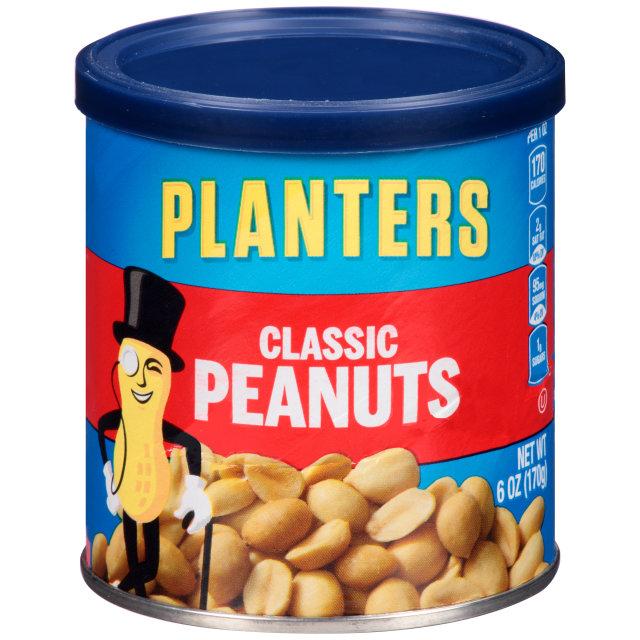 PLANTERS® Classic Peanuts 6 oz can