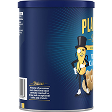 PLANTERS® Deluxe Lightly Salted Whole Cashews 18.25 oz can