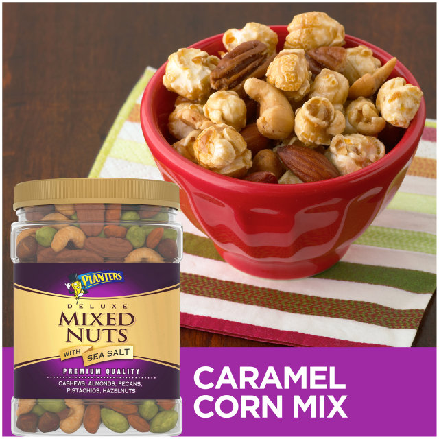 PLANTERS® Deluxe Mixed Nuts 34 oz jar