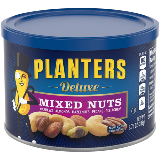 PLANTERS® Deluxe Mixed Nuts 8.75 oz can
