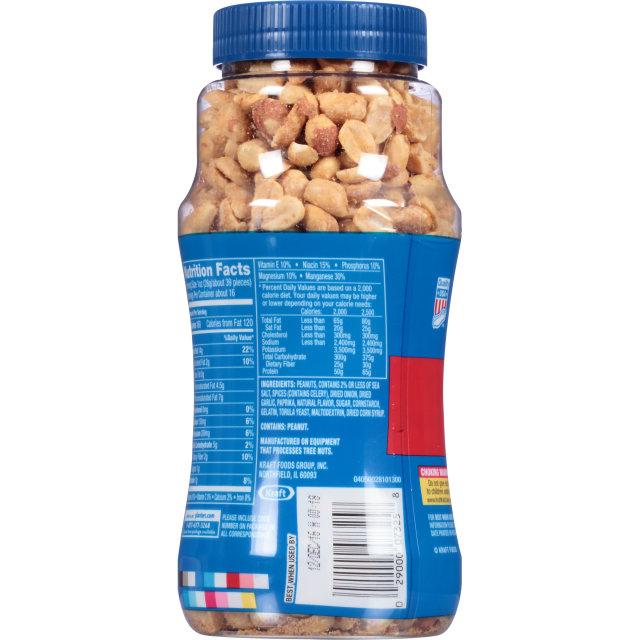 PLANTERS® Dry Roasted Peanuts 16 oz jar