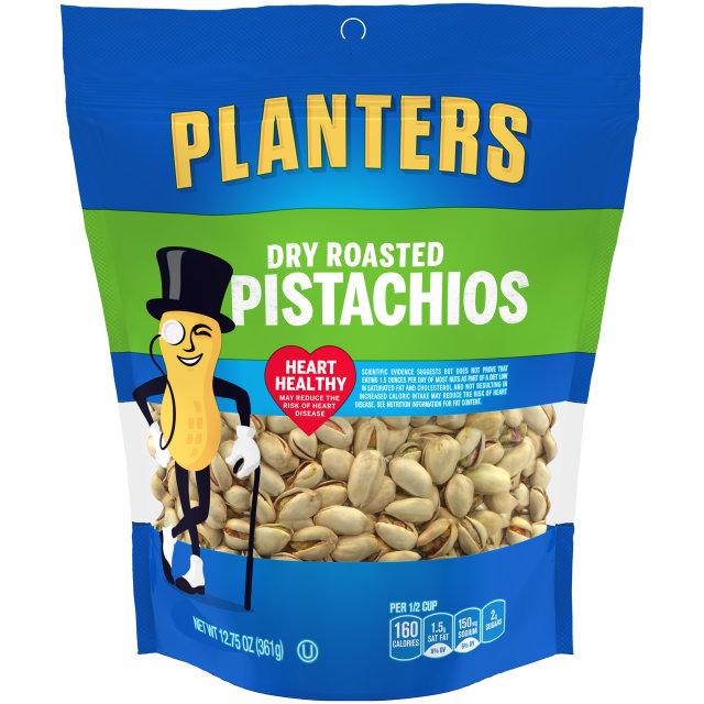 PLANTERS® Dry Roasted Pistachios 12.75 oz bag