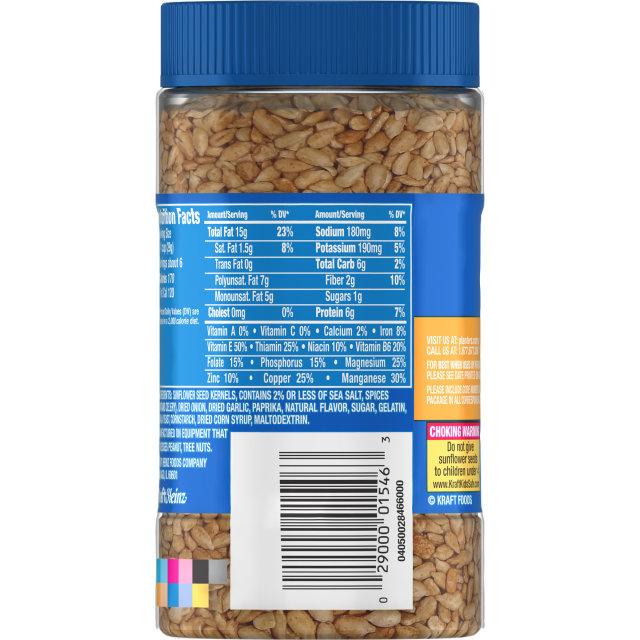 PLANTERS® Dry Roasted Sunflower Kernels 5.85 oz jar