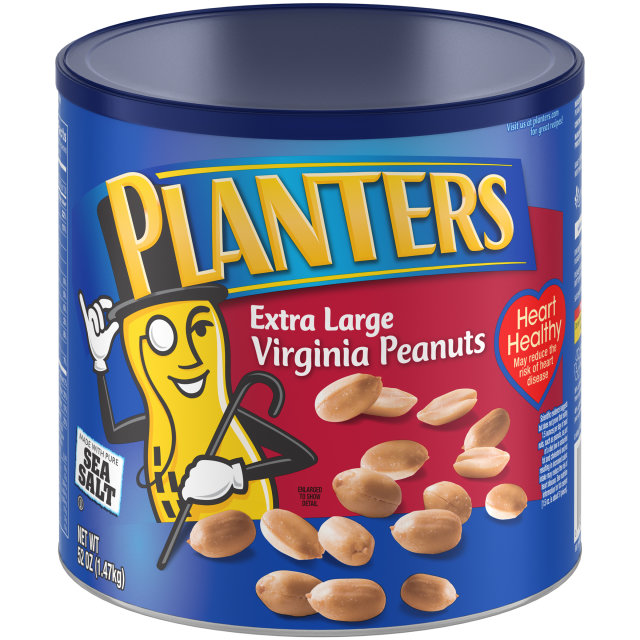 PLANTERS® Extra Large Virginia Peanuts 52 oz can
