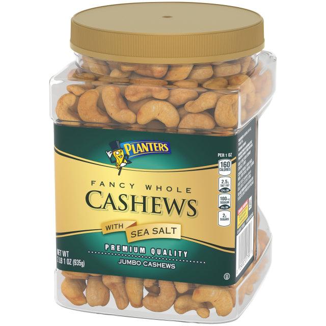 PLANTERS® Fancy Cashews 33 oz jar