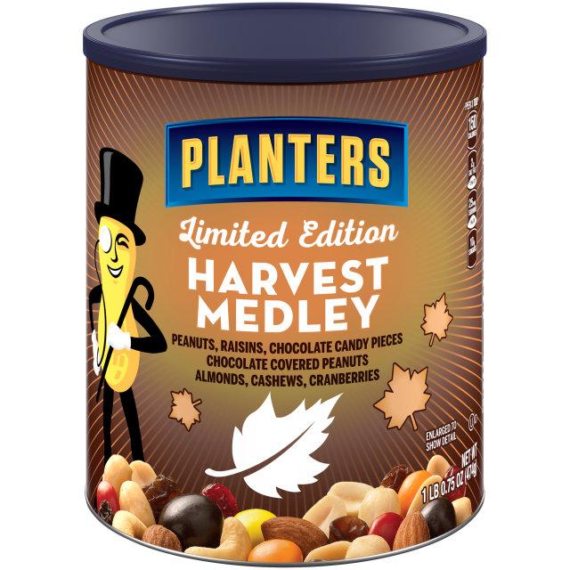 PLANTERS® Harvest Medley Mix 16.75 oz can