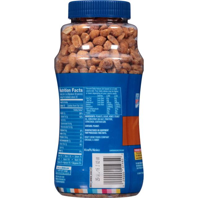 PLANTERS® Honey Roasted Dry Roasted Peanuts 20 oz jar