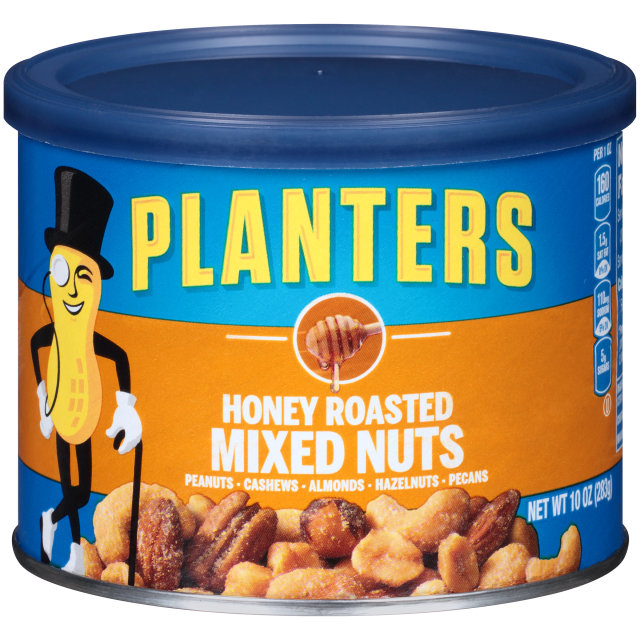 PLANTERS® Honey Roasted Mixed Nuts 10 oz can