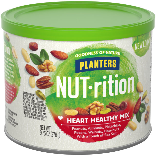 PLANTERS® NUT-RITION® Heart Healthy Mix 9.75 oz can