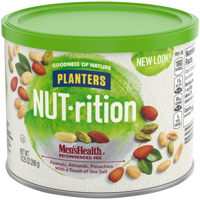 PLANTERS® NUT-RITION® Men's Health Recommended Mix 10.25 oz can