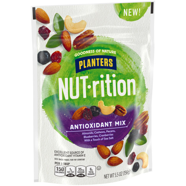 PLANTERS® NUT-RITION® Snack Nut and Dried Fruit Mix Antioxidant 5.5 oz bag
