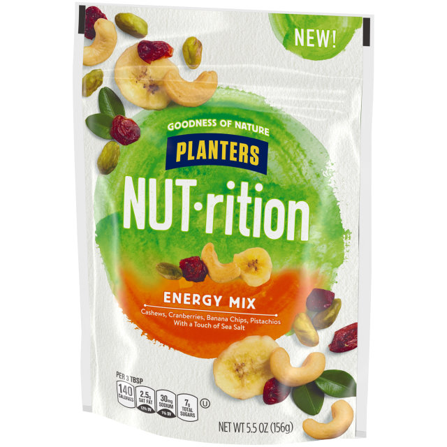 PLANTERS® NUT-RITION® Snack Nut and Dried Fruit Mix Energy 5.5 oz bag