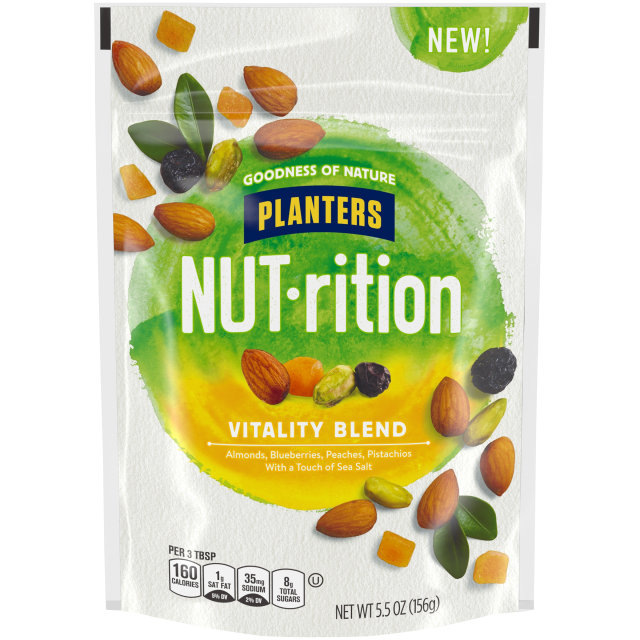 PLANTERS® NUT-RITION® Snack Nut and Dried Fruit Mix Vitality Blend 5.5 oz bag