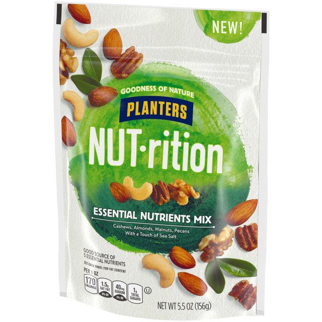 PLANTERS® NUT-RITION® Snack Nut Mix Essential Nutrients 5.5 oz bag