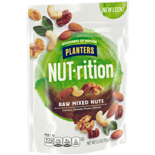PLANTERS® Raw Mixed Nuts 5.5 oz bag