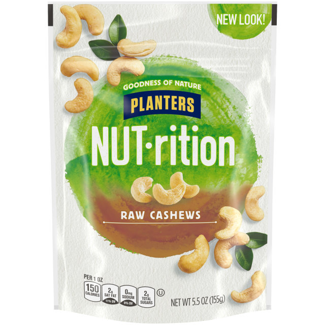 PLANTERS® Raw Whole Cashews 5.5 oz bag