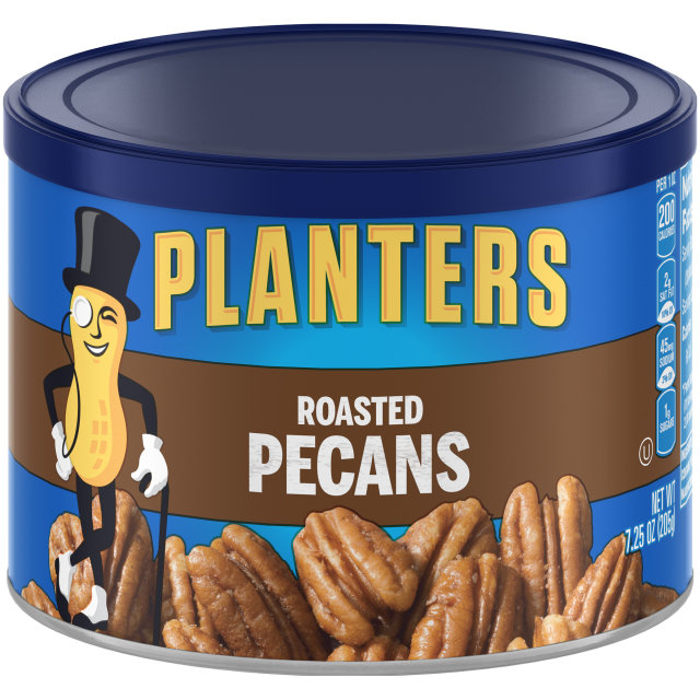 PLANTERS® Roasted Pecans 7.25 oz can