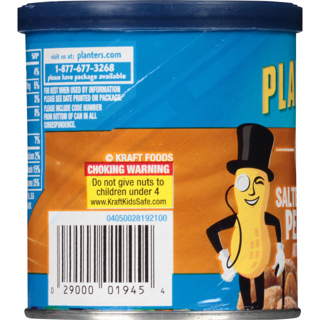 PLANTERS® Salted Caramel Peanuts 6 oz can