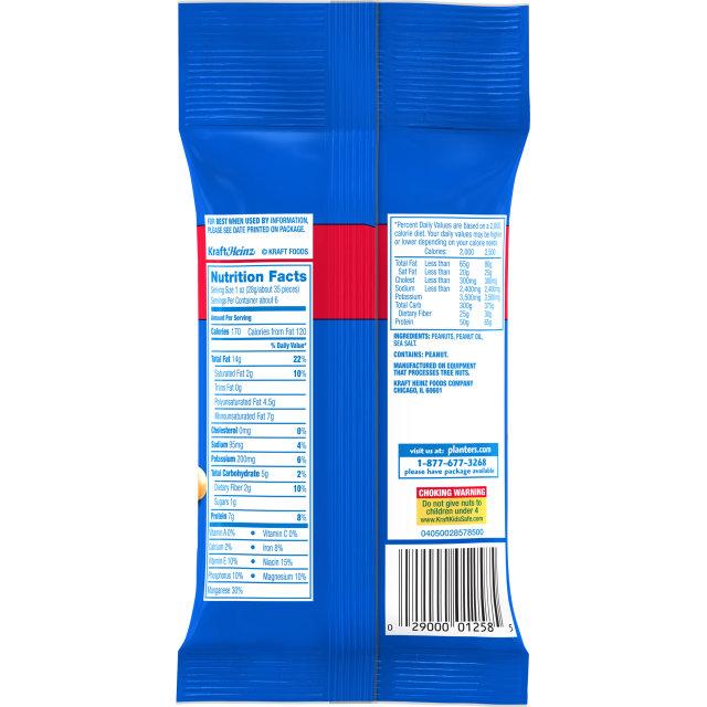 PLANTERS® Salted Peanuts 6 oz bag