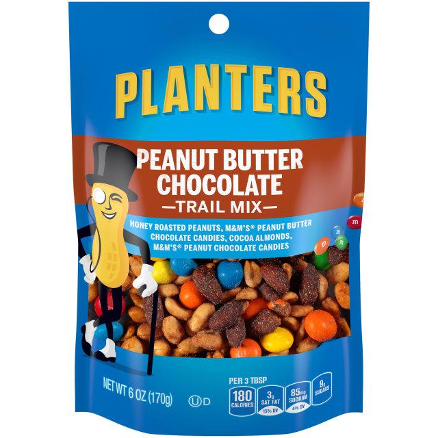 PLANTERS® Trail Mix Peanut Butter Chocolate 6 oz bag