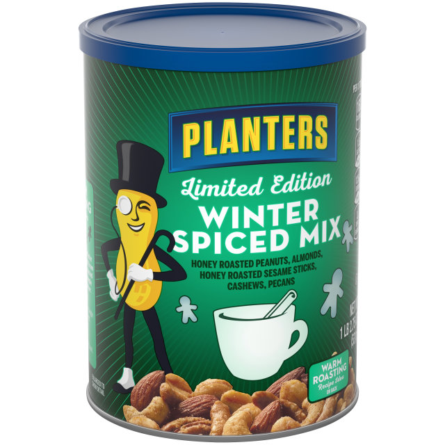PLANTERS® Winter Spiced Mix 18.75 oz can